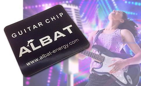 Guitar Tuning Chip Silver