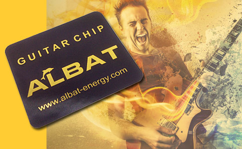 Guitar Tuning Chip Gold