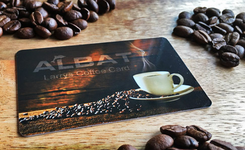 Larrys Coffee Card (3er Set)
